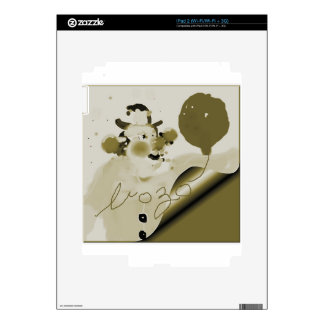 framedbozogoldtrim.png skin para el iPad 2