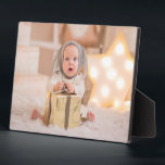 """Frameless Photo Tabletop Easel Back Plaque<br><div class=""""desc"""">Tabletop plaque with a built-in easel features your favorite photo put directly on the hardboard panel for a stunningly crisp image with an easy wipe clean surface. Great as a gift or to display your favorite photo in your home. TIP: If using square plaque, crop your photo to square BEFORE...</div>"""