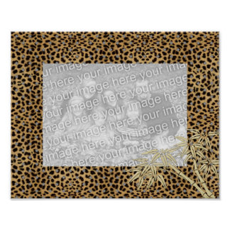 Frames For Your Photo Poster Image Leopard