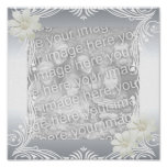 Frames For Your Photo Poster Image Silver
