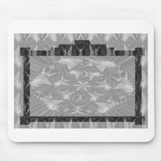 Frames of Black n White Art - Add text or image Mouse Pad