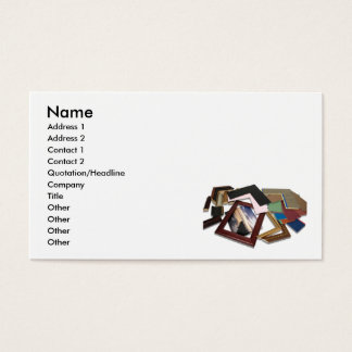 FramingDecisionCard, Name, Address 1, Address 2... Business Card