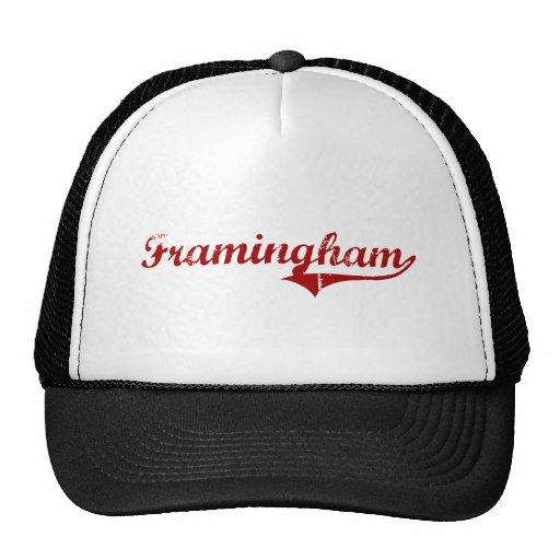 Framingham Massachusetts Classic Design Trucker Hat