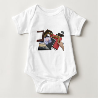 FramingPlace050809Shadows Baby Bodysuit