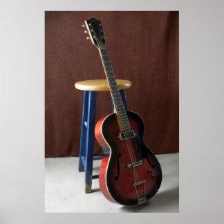 Framus Hollowbody Electric Guitar fine art print