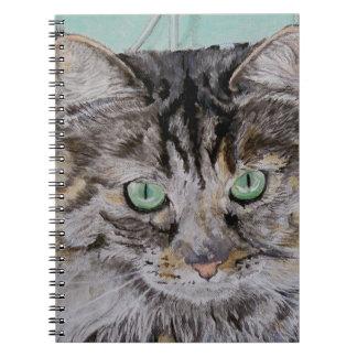 Fran the Tabby Cat Notebook