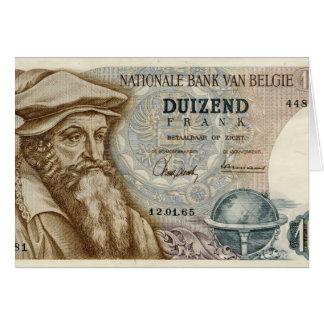 Franc Birthday card