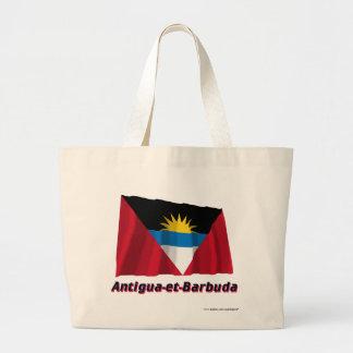 Français de Drapeau Antigua-y-Barbuda avec le nom  Bolsas De Mano