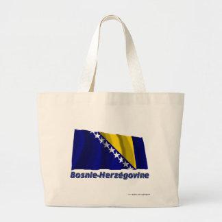 Français de Drapeau Bosnie-Herzégovine avec le nom Bolsas