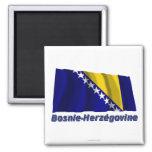 Français de Drapeau Bosnie-Herzégovine avec le nom Imán Para Frigorífico