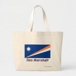 Français de Drapeau Îles Marshall avec le nom en Bolsa