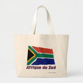 Français de le nom en del avec de Drapeau Afrique  Bolsas De Mano