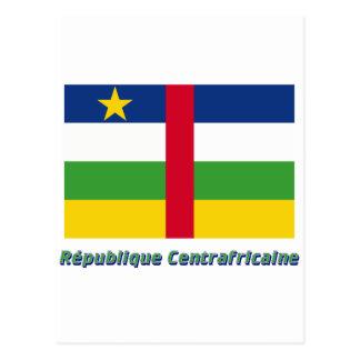 Français del en del nom del centrafricaine de postal