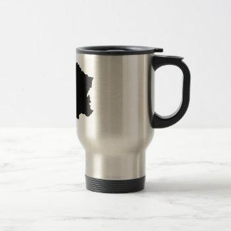 France 15 Oz Stainless Steel Travel Mug