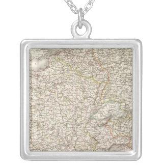 France 1789, 1813 square pendant necklace
