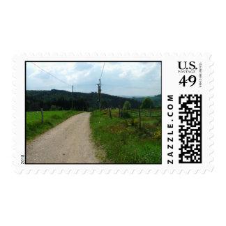 France 17 postage stamp