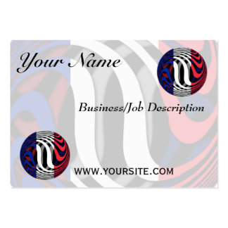 France #1 business card template