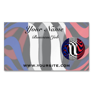 France #1 magnetic business card