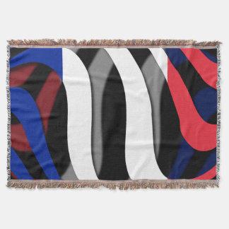 France #1 throw blanket