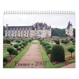 France - 2007 calendar