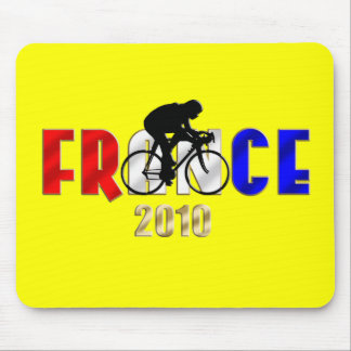France 2010 Cycling gifts for Cyclists Mouse Pad