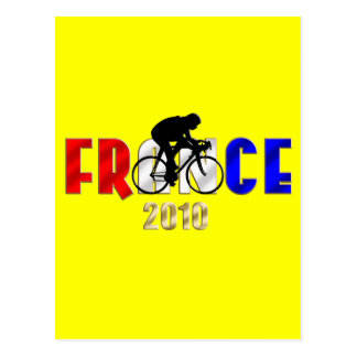 France 2010 Cycling gifts for Cyclists Postcard