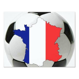 "France 2010 4.25"" x 5.5"" invitation card"