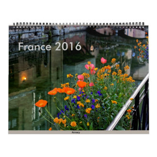 France 2016 calendar