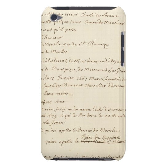 France 20 iPod touch cover