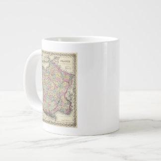 France 2 large coffee mug