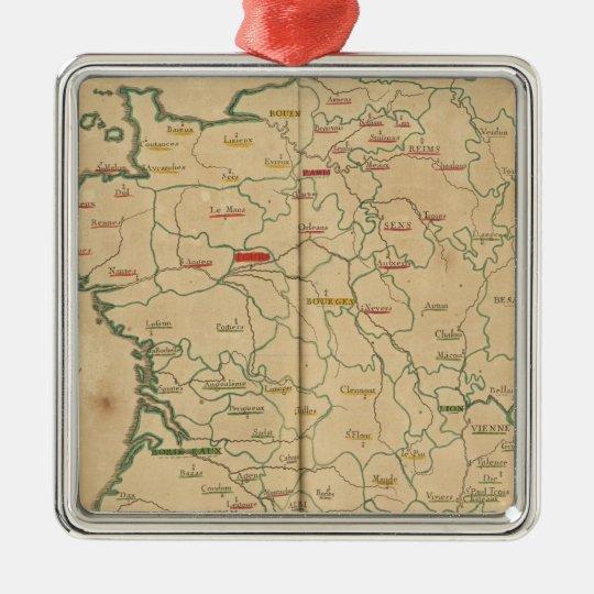 France 32 metal ornament