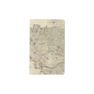 France 53 pocket moleskine notebook