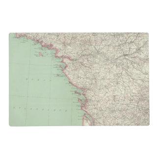 France 9 placemat