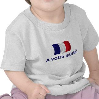 France A Votre Sante Tshirts