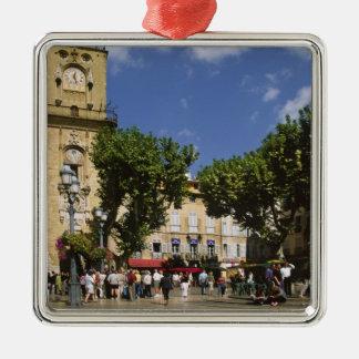 France, Aix en Provence, La Place de la Maire Metal Ornament