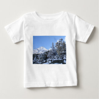 France alps in Winter Baby T-Shirt
