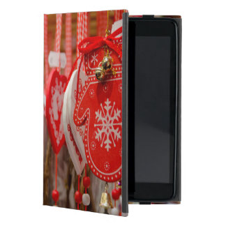 France, Alsace, Colmar. Christmas Market iPad Mini Cover
