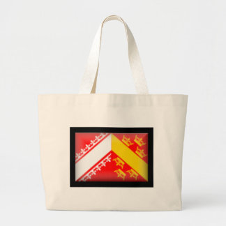 France-Alsace Flag Tote Bag