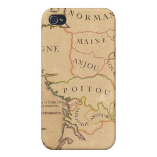 France and Departments iPhone 4/4S Case