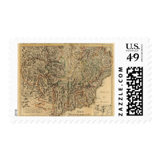 France and Italy Postage Stamp