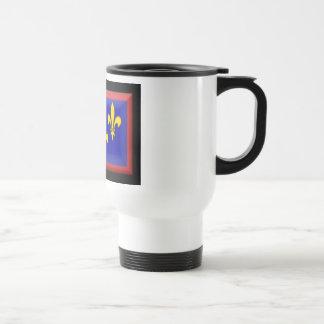 France-Anjou Flag Travel Mug