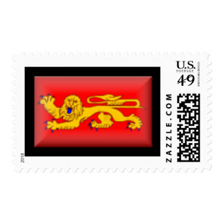 France-Aquitaine Flag Stamps