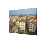 France, Arles, Provence, city view from Stretched Canvas Print
