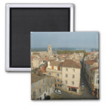 France, Arles, Provence, city view from 2 Inch Square Magnet