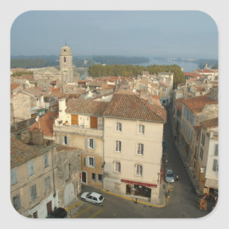 France, Arles, Provence, city view from Square Sticker