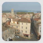 France, Arles, Provence, city view from Square Stickers