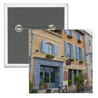France, Arles, Provence, hotel and restaurant Buttons