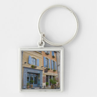 France, Arles, Provence, hotel and restaurant Key Chain