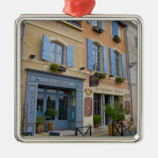 France, Arles, Provence, hotel and restaurant Metal Ornament
