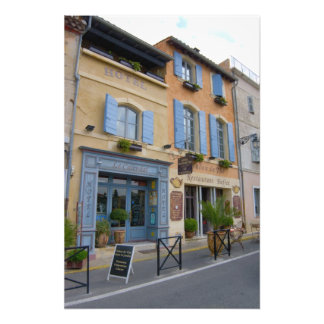 France, Arles, Provence, hotel and restaurant Photograph